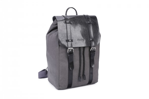 sugrbag Popy backpack grey / black