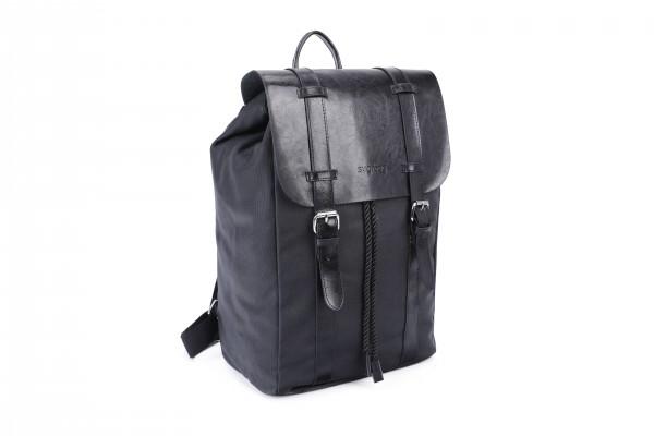 sugrbag Popy backpack full black
