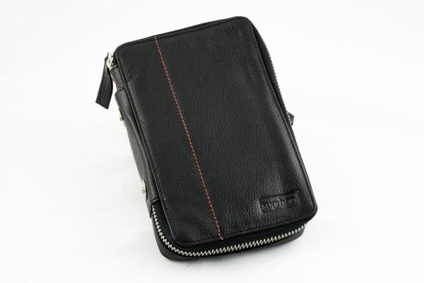 sugrbag Mini Leder schwarz