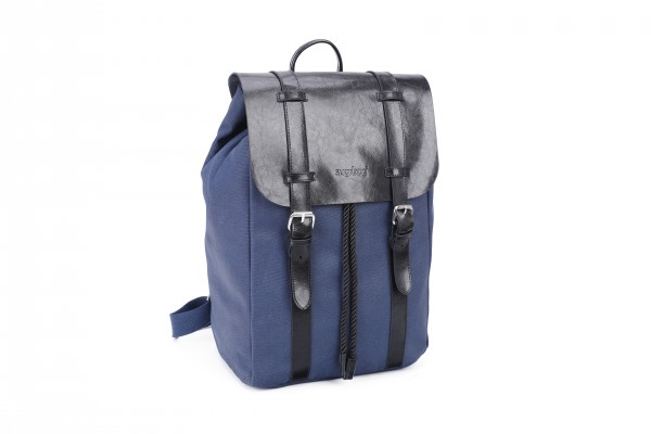 sugrbag Popy backpack jeans blue / black